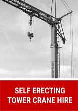 Self Erecting Tower Crane Hire