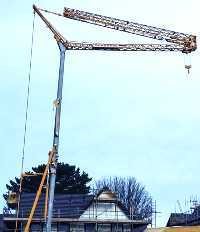 Potain Igo 50 Self Erecting Crane