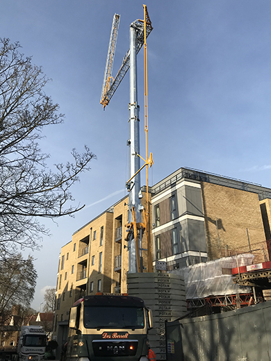 Potain Hup 40-30self erecting tower crane
